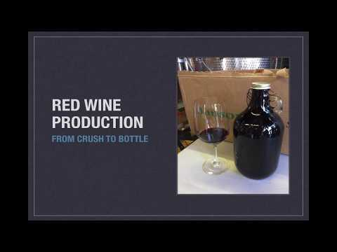 Winecast: Red Wine Production