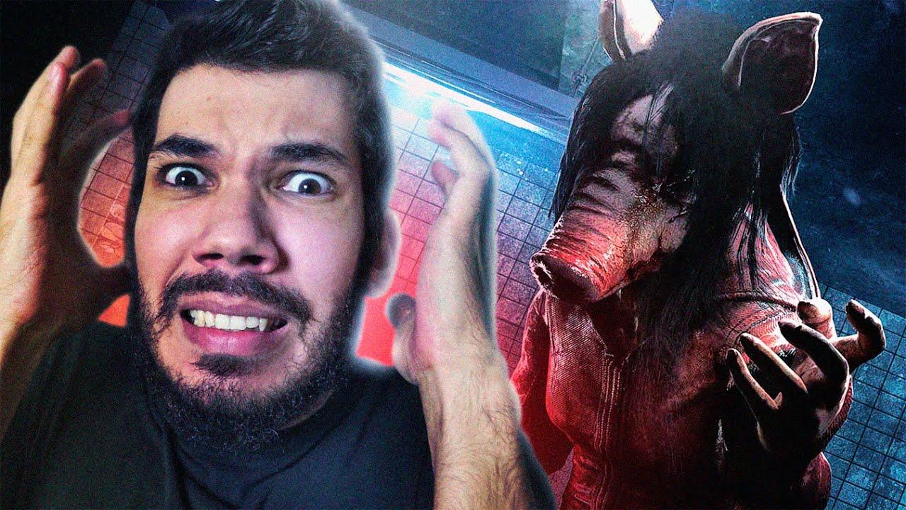 JOGO DE TERROR ONDE OS PORCOS QUE SE ALIMENTAM DE HUMANOS | Pig Saw Gameplay
