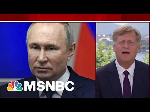 Biden Has To Engage And Contain Putin, Says Former Ambassador   MSNBC