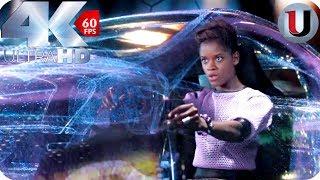 Black Panther - Car Chase In South Korea Scene - MOVIE CLIP (4K HD)