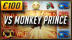 €100 VS IGT'S MONKEY PRINCE: New Online Casino Slots (2018)