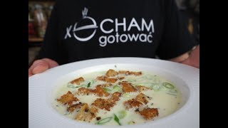 Rozgrzewająca zupa Serowa