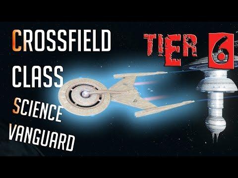 Crossfield-class Science Vanguard [T6] – with all ship visuals - Star Trek Online