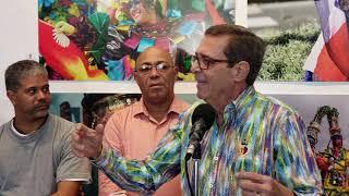 Embajador de Alemania Visita Museo del Carnaval Vegano