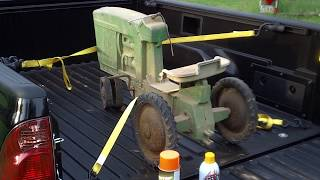 First Video of Pedal Tractor Restoration. #1.
