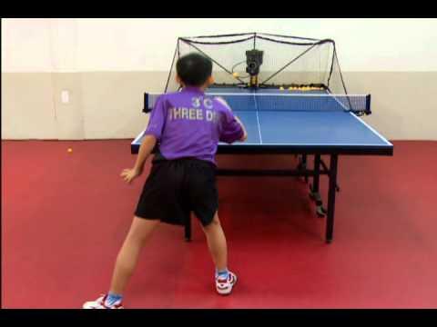 桌球技術教學影片-15練習-Smartpong 電腦全自動乒乓球發球機 - YouTube
