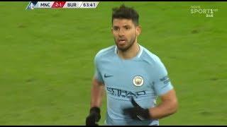 Sergio Aguero vs Burnley 712018 Home