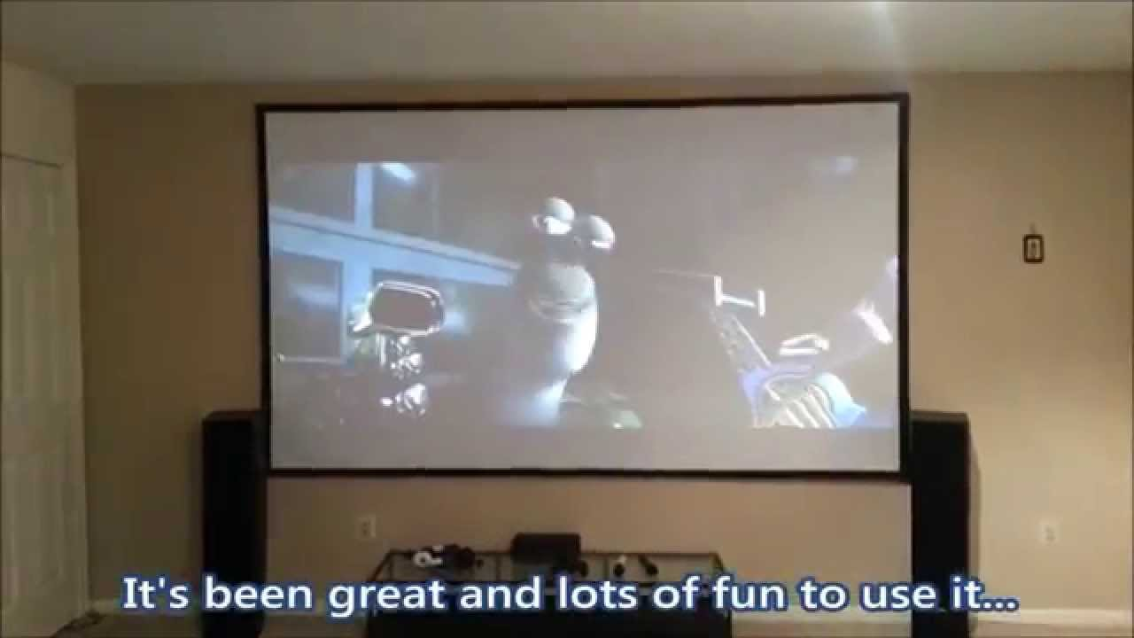 Diy Projection Screens For Home Theater