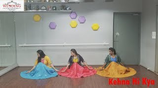 KEHNA HI KYA | BRIDE DANCE PERFORMANCE BY TEAM WEDDING CHOREOGRAPHER | Aabha_Darshit