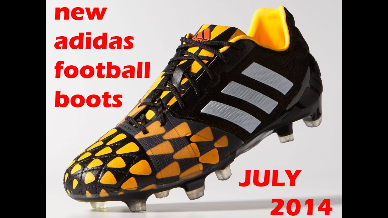 equilibrio pasatiempo tensión  new release adidas football boots for july 2014 - YouTube