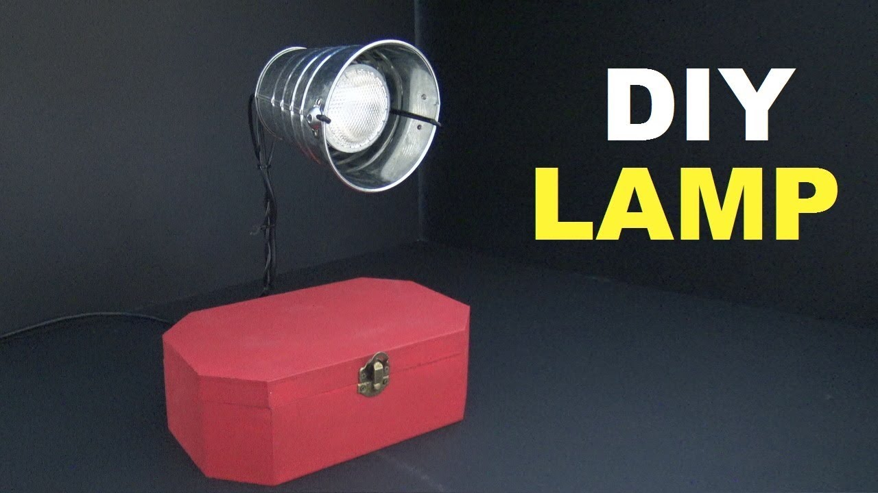 how to make a homemade lamp