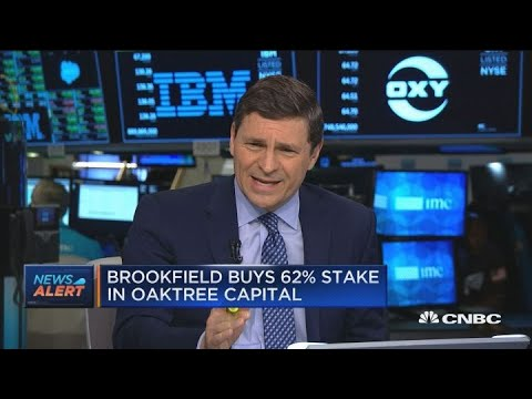 Brookfield Asset Management buys controlling stake in Oaktree Capital