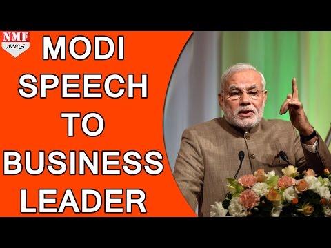 Narendra Modi Speech at India Japan Business Leaders Forum 2015