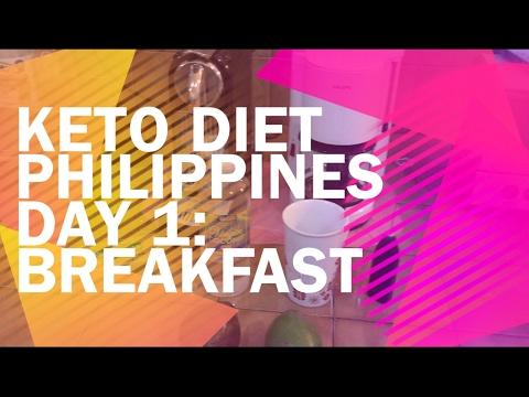 Keto Diet Philippines Day 1: Breakfast