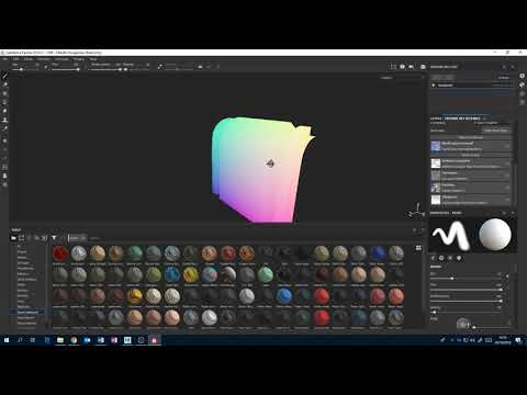 Introduction to CGI Sem1 Week6   A slightly more in depth look at Substance Painter