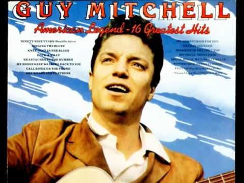 Guy Mitchell ::: She Wears Red Feathers.