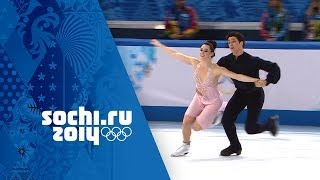 Tessa Virtue & Scott Moir - Full Silver Medal Free Dance Performance | Sochi 2014 Winter Olympic