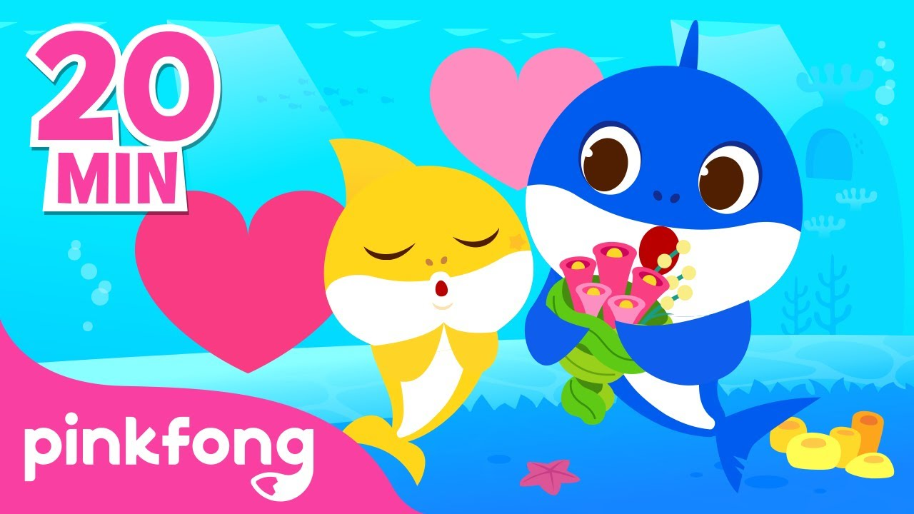 Where is Daddy Shark and more | Father's Day | +Playlist | Pinkfong Songs for Children