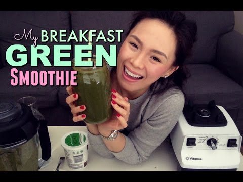 HEALTHY GREEN SMOOTHIE   Curb Cravings + Maintain Weight