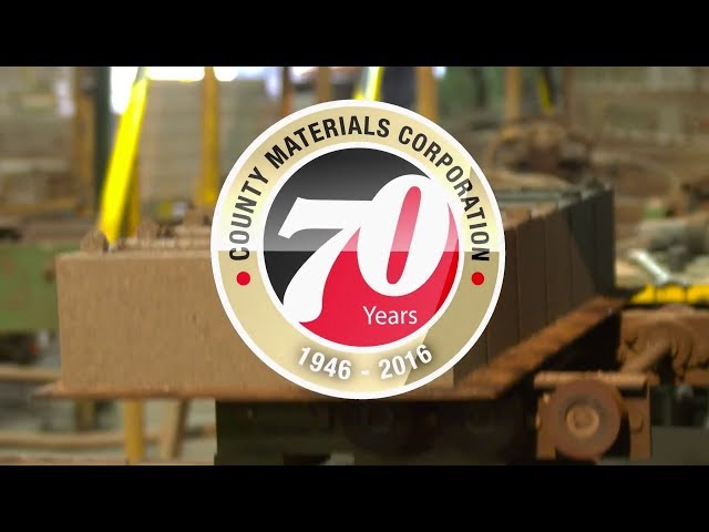 County Materials' 70th Anniversary (Spanish)