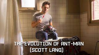 Эволюция Человека-муравья (Скотт Лэнг)  В Кино и Мультсериалах