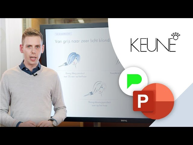 Workshop PowerPoint presentatie Keune | Portfolio | PPT Solutions