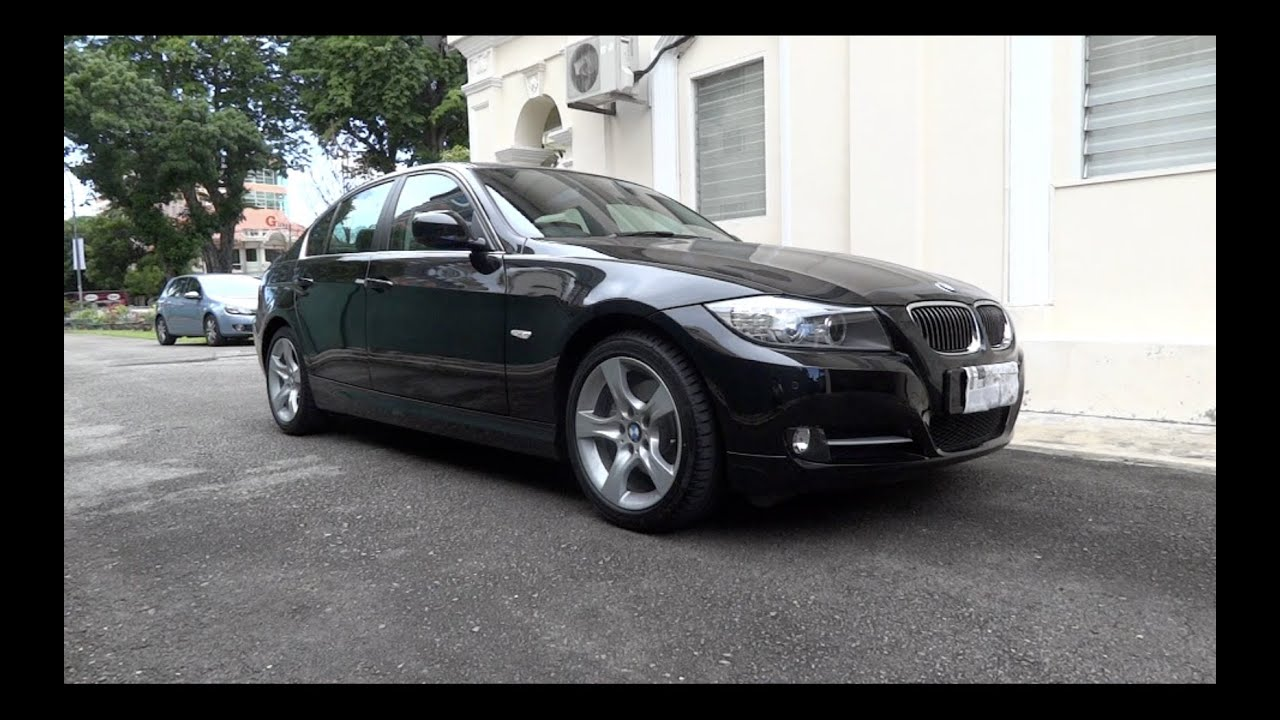 2011 bmw 323i exclusive edition e90 startup and full