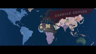 Always War 1936 - 1967, Timelapse Hearts of Iron 4