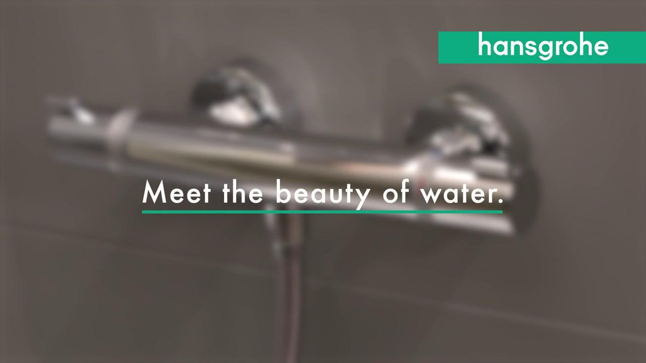 Gut bekannt Hansgrohe Ecostat Comfort Shower Valve - YouTube MM65