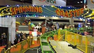 IAAPA Spinning Roller Coaster POV 2014