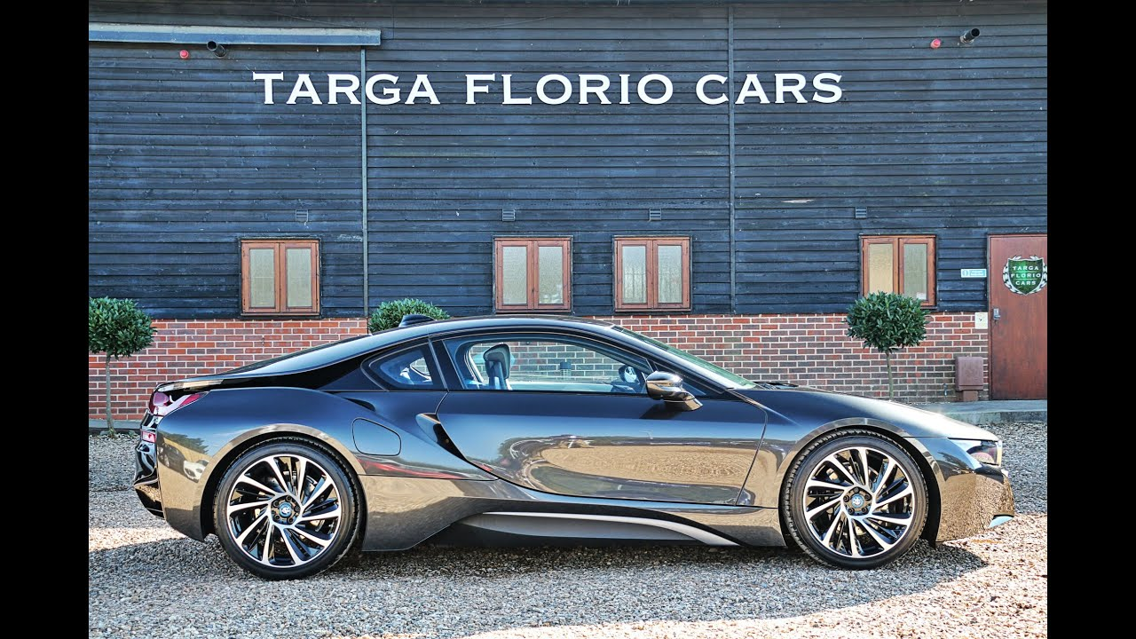 Bmw I8 1 5 Hybrid In Sophisto Grey With Frozen Grey Accent London Uk