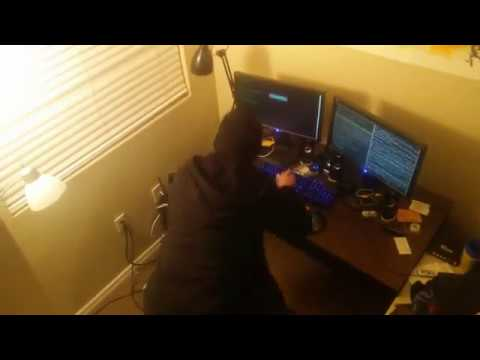 Exclusive Video Of Russian Hacker Caught In The Act!