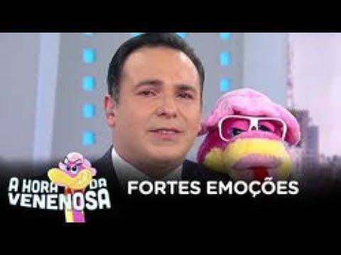 Reinaldo Gottino chora com homenagem de Geraldo Luís