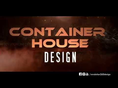 Container House Design - Official Animation Video | Revolution 360 Design | Redline Architect | MJ94