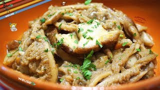 421 - Trippa e porcini..e ti levi dai casini  (secondo piatto facile della tradizione toscana)