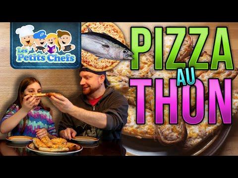 recette-de-pizza-au-thon- -les-petits-chefs