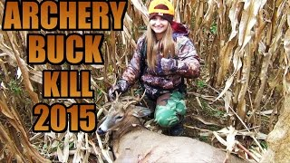Deer Bow Hunting Buck Kill 2015- Devon