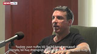 Derek Sherinian  Armenians are strong people and we do not give up