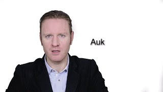 auk meaning   pronunciation    word wor l d audiometry video dictionary