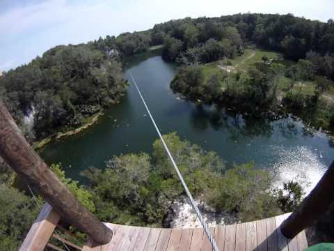 THE CANYONS ZIPLINE OCALA FLORIDA