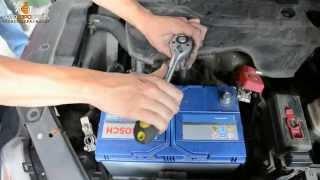 Замена АКБ на Kia Sorento I (BL) 2.5 diesel, ставим Bosch S4 95Ah(, 2015-02-19T10:41:46.000Z)
