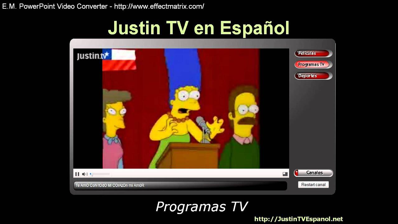 dc94bfe2e6560 Justin TV en Espanol - YouTube