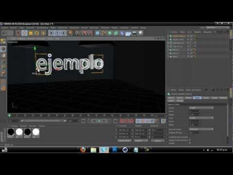 Crear cuarto con esferas y iluminacion global-Cinema 4d