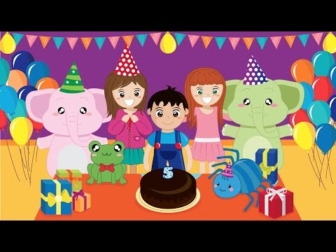 Happy Birthday - Tanti Auguri a Te | HD Children Songs & Nursery Rhymes by Music For Happy Kids