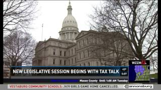 Sen. Pavlov discusses a possible income tax repeal