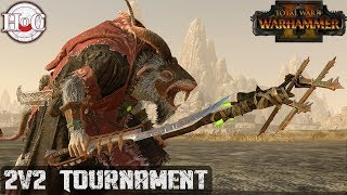 2v2 TOURNAMENT - Total War Warhammer 2 - Online Battle 284