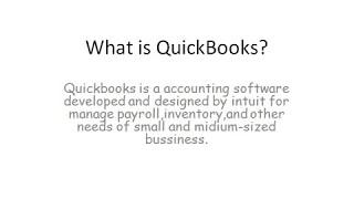 QuickBooks Data Recovery