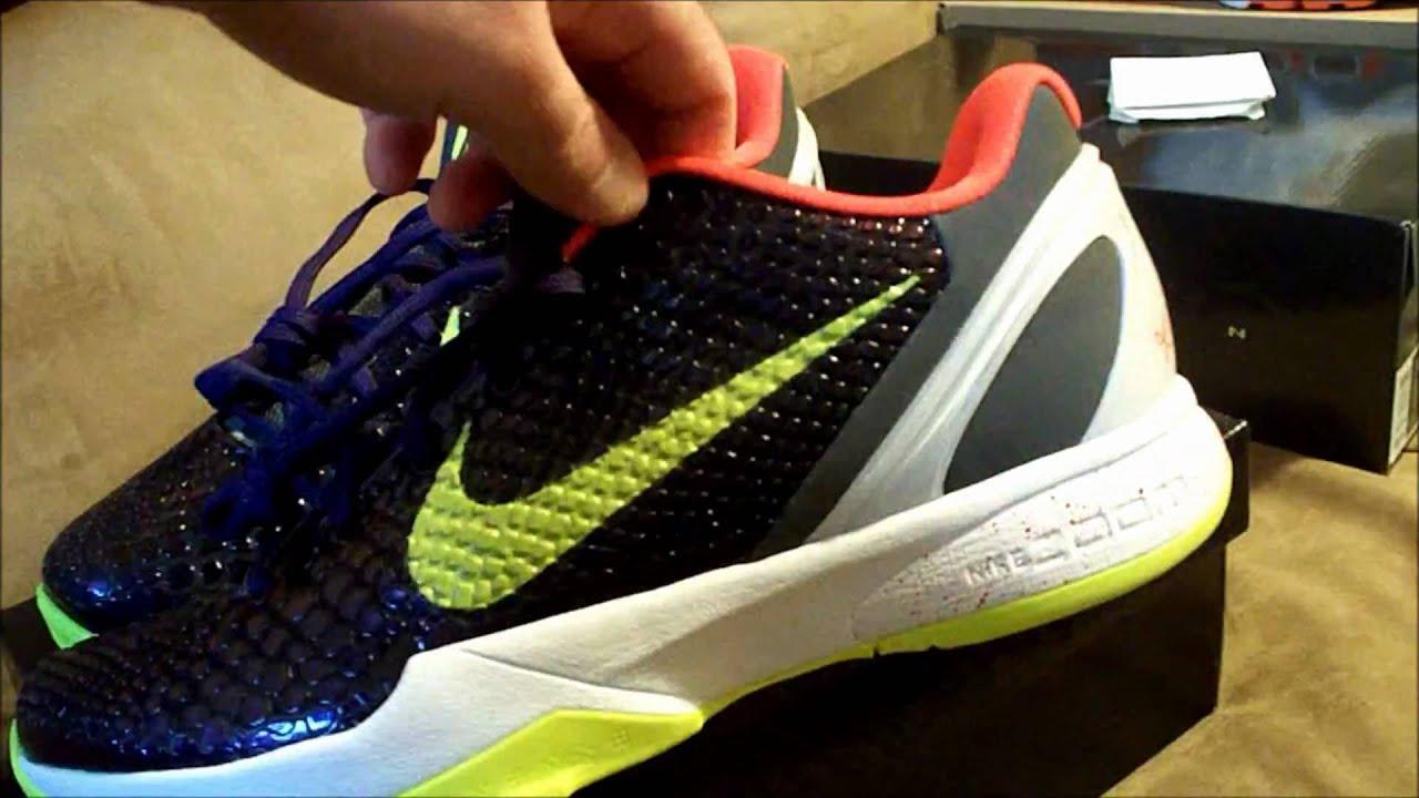 2c489e27dfa3 Nike Zoom Kobe VI Chaos 6 Joker - YouTube