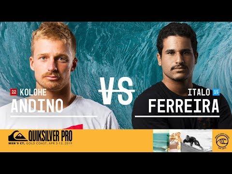 Italo Ferreira wins 2019 Quiksilver Pro Gold Coast