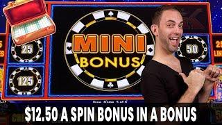 😲 $12.50/Spin BONUS in a BONUS 💰 Plus BIG Cash Machine WIN!